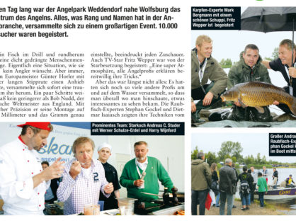 Angelwoche, 24.07.2012: Fishing Masters