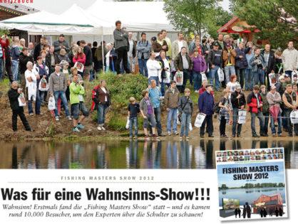 FliegenFischen 5/2012: Was für eine Wahnsinns-Show!!!