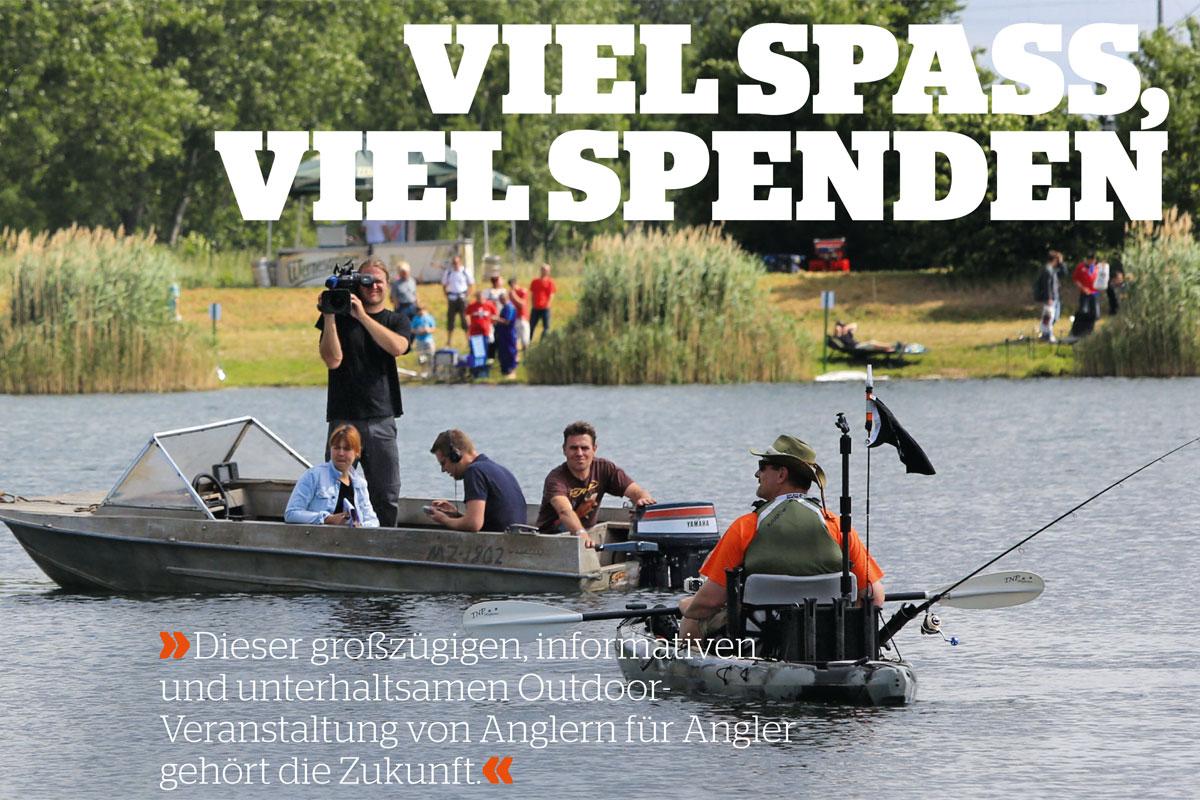 """Blinker Ausgabe 8, 17.07.2013: Fishing Masters Show: """"Dieser Outdoor-Veranstaltung von Anglern für Angler gehört die Zukunft"""""""