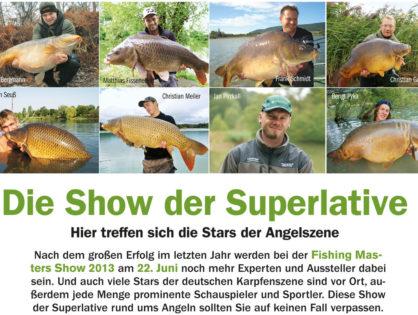 Karpfen 3/2013: Die große Show