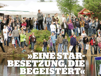 """Esox 9/12, Blinker 8/2012 und Angelwoche: """"Eine Starbesetzung, die begeistert"""""""
