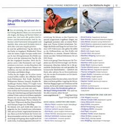 Märkischer Angler, 19.03.2012: Die größte Angelshow des Jahres