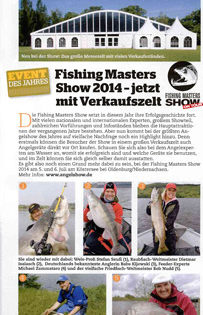 Event des Jahres – Fishing Masters Show 2014