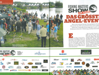 Fishing Masters Show On Tour das größte Angel-Event