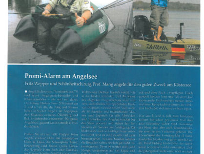 Promi-Alarm am Angelsee