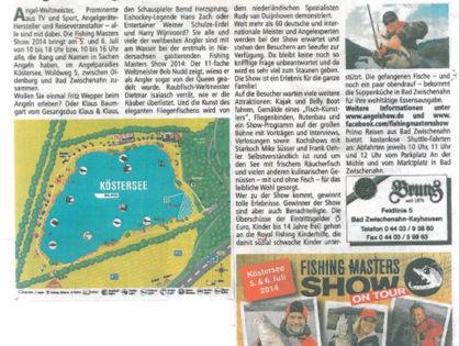 Das größte Angel-Event des Jahres – Promi-Alarm am Köstersee