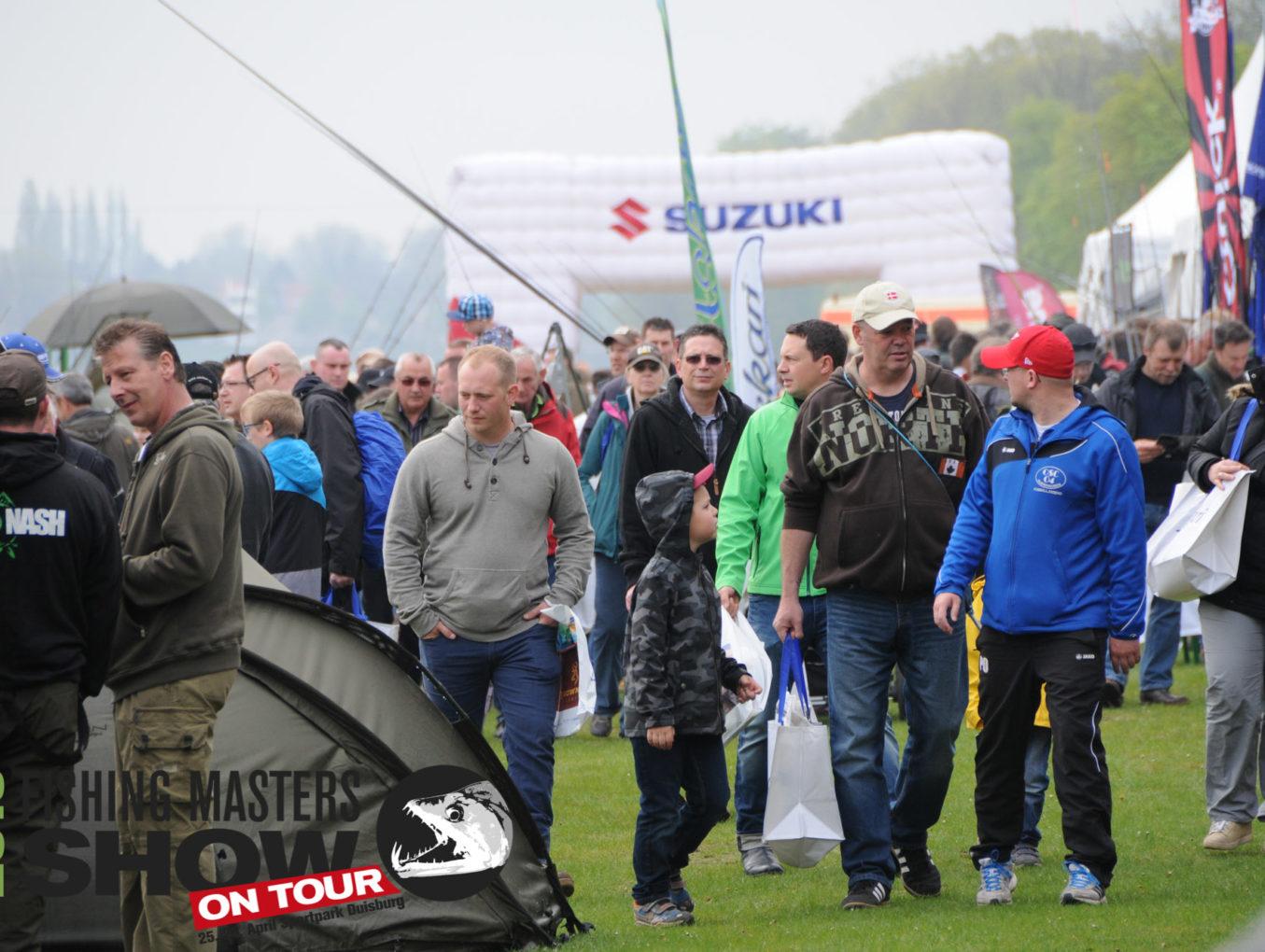 FISHING MASTERS SHOW on Tour 2015 Das größte Angel-Event Europas wieder ein voller Erfolg