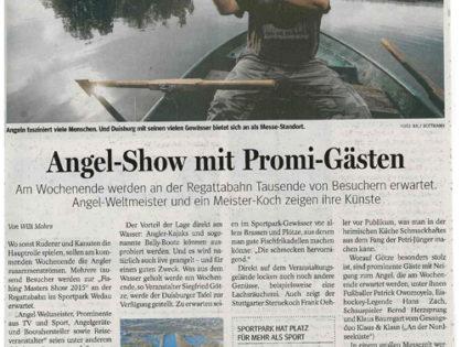 Angel-Show mit Promi-Gästen