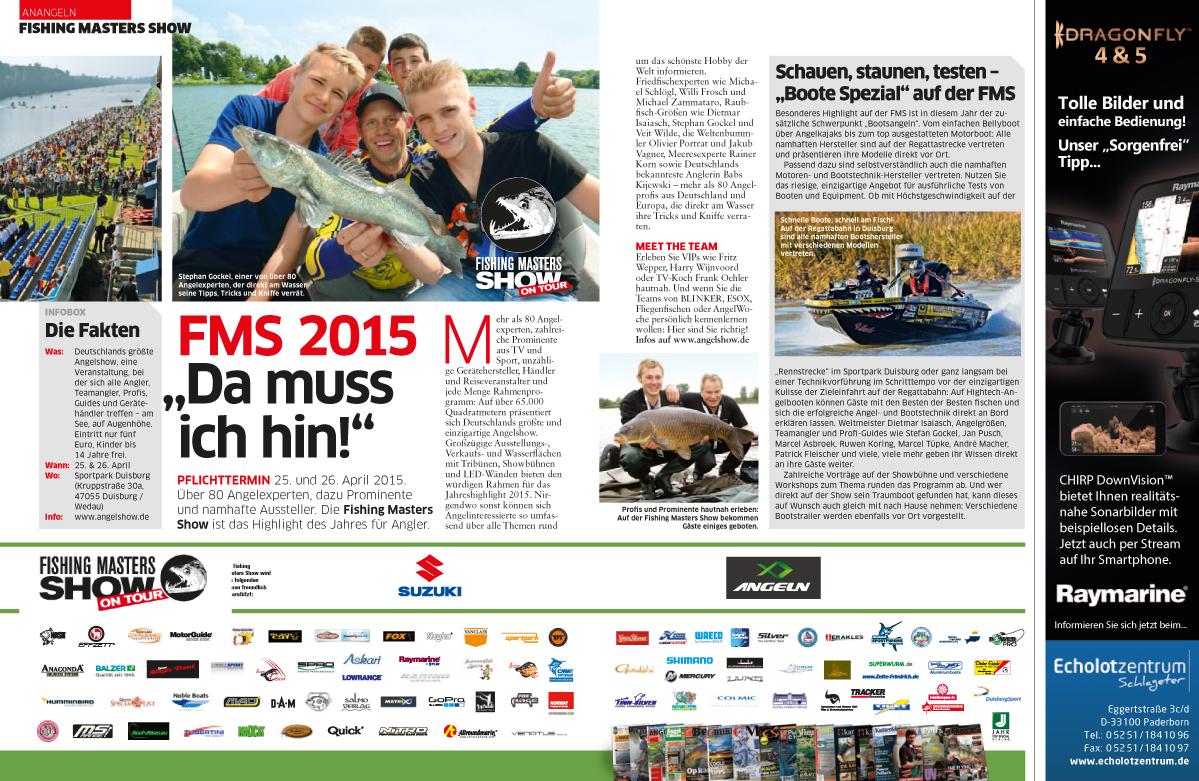 """FMS 2015 """"Da muss ich hin"""""""