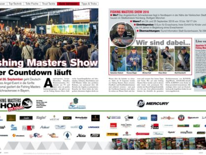 Fishing Masters Show – der Countdown läuft