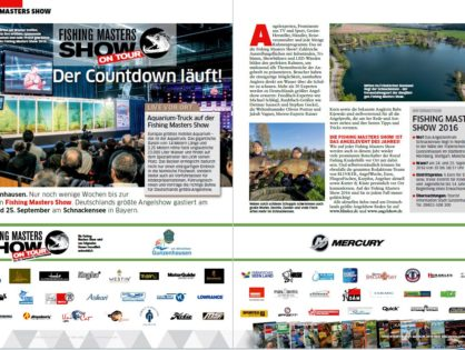 Fishing Masters Show on Tour – Der Countdown läuft