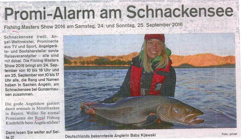 Promi-Alarm am Schnackensee