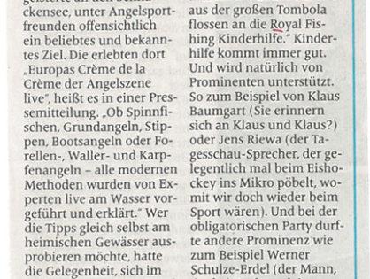 Wunderbare Welt des Sports – Petri Heil!