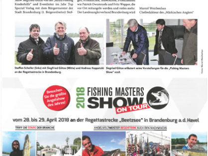 """Fishing Masters Show"" 2018 in Brandenburg an der Havel"