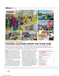 Fishing Masters Show on Tour 2018