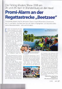 "Promi-Alarm an der Regattastrecke ""Beetzsee"""