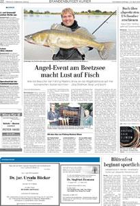 Angel-Event am Beetzsee macht Lust auf Fisch