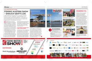 Fishing Masters Show – endlich geht's los