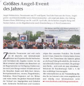 Größtes Angel-Event des Jahres