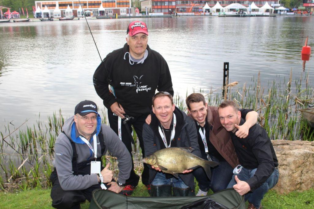 Fishing Masters Show on Tour Sportpark Duisburg 2015