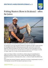 Fishing Masters Show in Stralsund – offen für Jeden