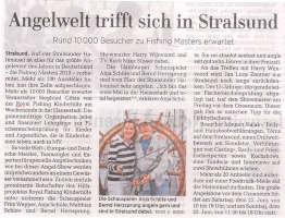 Angelwelt trifft sich in Stralsund
