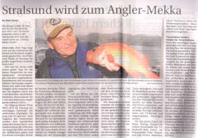 Stralsund wird zum Angler-Mekka
