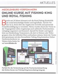 Fischereischein via Internet